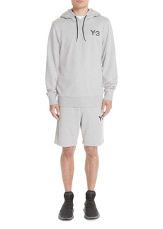 Y-3 French Terry Logo Hoodie