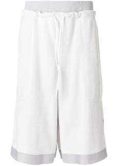 Y-3 high waisted track shorts