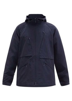 Y-3 Hooded ripstop windbreaker jacket