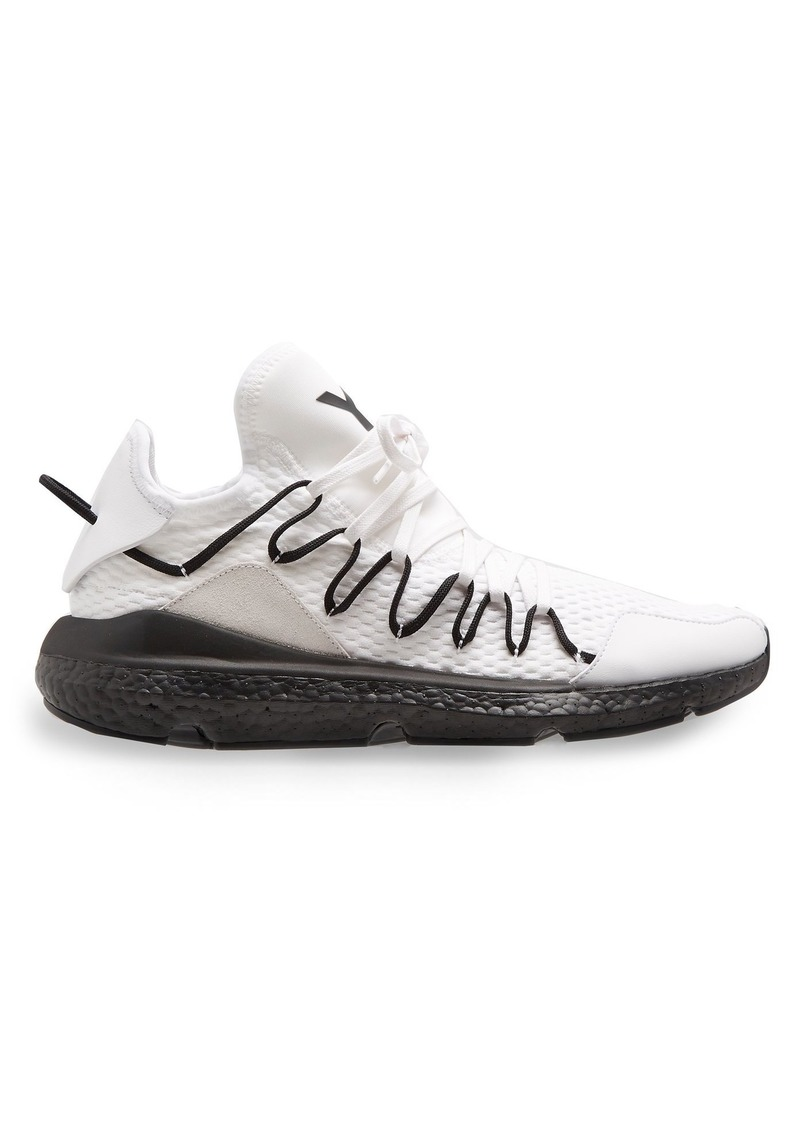 ffca041b3 Y-3 Y-3 Kusari low-top knitted trainers Now  234.00