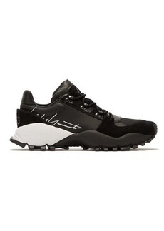 Y-3 Kyoi Trail leather and suede trainers