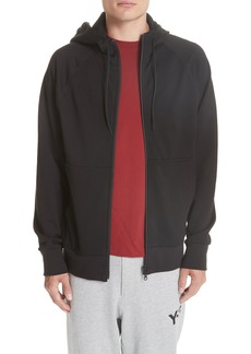 Y-3 Logo French Terry Zip Hoodie