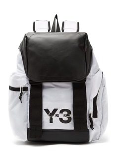 Y-3 Logo-print backpack
