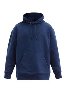 Y-3 Logo-print cotton-jersey hooded sweatshirt