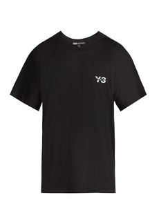 Y-3 M Signature cotton T-shirt