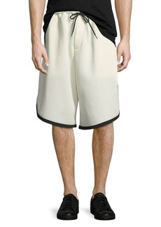 Y-3 Men's 3-Stripe Mesh Shorts