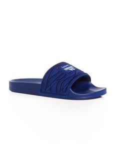 Y-3 Men's Adilette Embroidered Slide Sandals