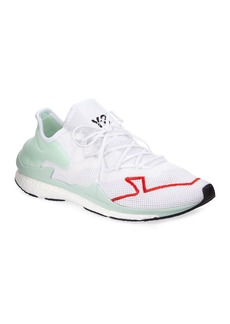 Y-3 Men's Adizero Lace-Up Mesh Running Sneakers