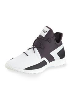 Y-3 Men's Arc Mid-Top Textile Sneaker