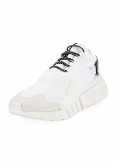 Y-3 Men's Ayero Leather & Mesh Sneakers
