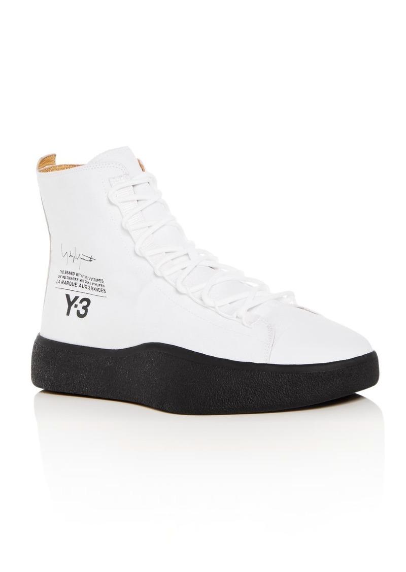971681010 SALE! Y-3 Y-3 Men s Bashyo High Top Sneakers