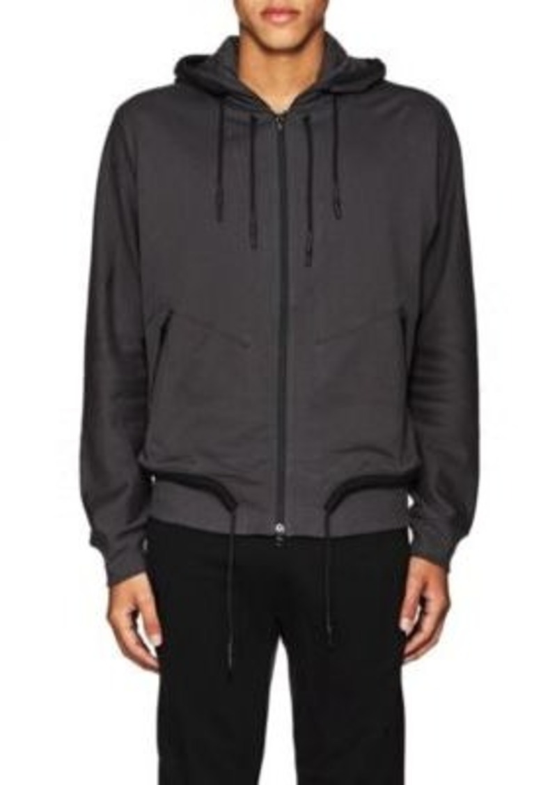 Y-3 Men's Cotton Drawstring Hoodie