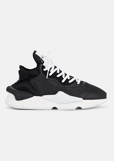 Y-3 Men's Kaiwa Mixed-Material Sneakers