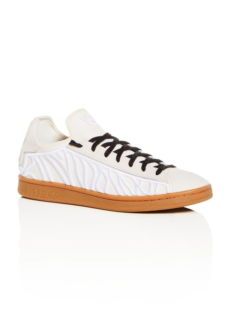 c490701f42944 On Sale today! Y-3 Y-3 Men s Shishu Stan Embroidered Lace Up Sneakers