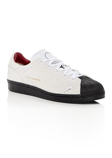 Y-3 Men's Super Knot Suede Lace Up Sneakers
