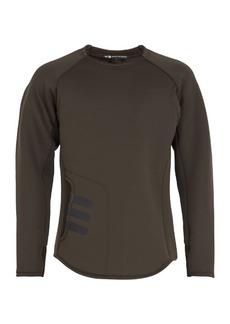 Y-3 Mesh-panel neoprene sweatshirt