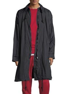 Y-3 Packable Zip-Front Nylon Coat