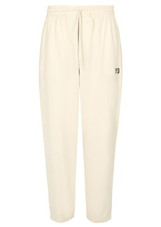 Y-3 Sashiko wide-leg cotton sweatpants