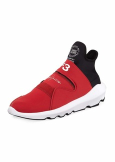 Y-3 Men's Suberou Fast-Strap High-Top Sneakers