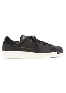 Y-3 Superknot leather low-top trainers