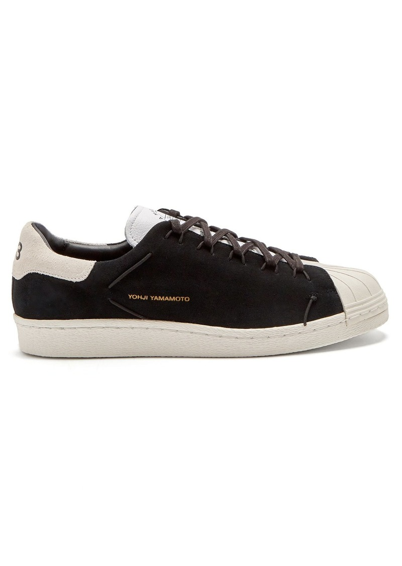 520e4db7a210a Y-3 Y-3 Superknot Superstar suede low-top trainers