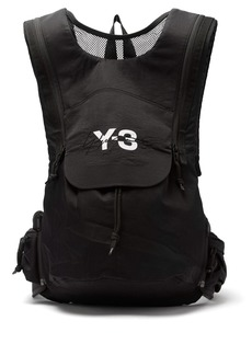 Y-3 Technical nylon backpack