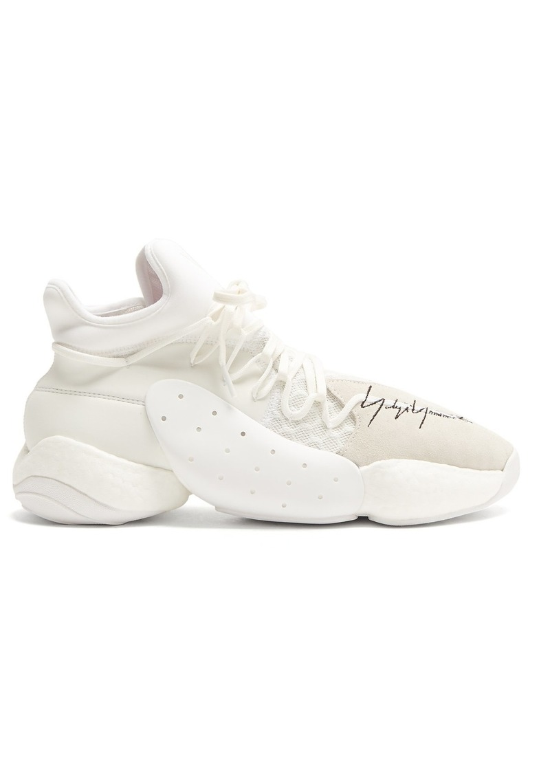 e5b81975c6a53 Y-3 Y-3 X James Harden BYW BBALL mid-top trainers