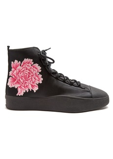 Y-3 X James Harden floral-jacquard trainers