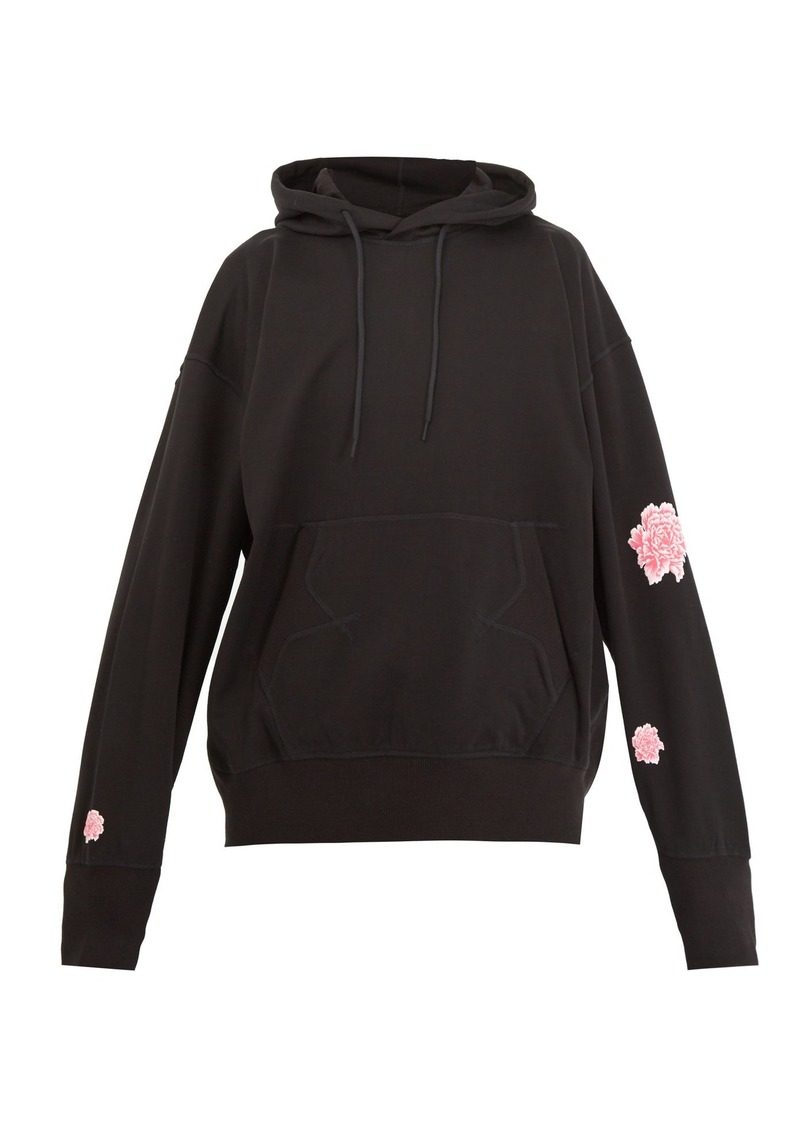 210c07ea2c61b Y-3 Y-3 X James Harden printed hooded cotton sweatshirt