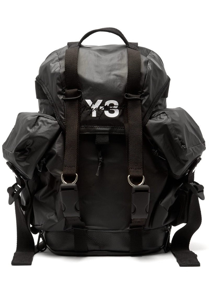 Y-3 Y-3 XS Utility logo-print backpack  26cac1f5e82d7