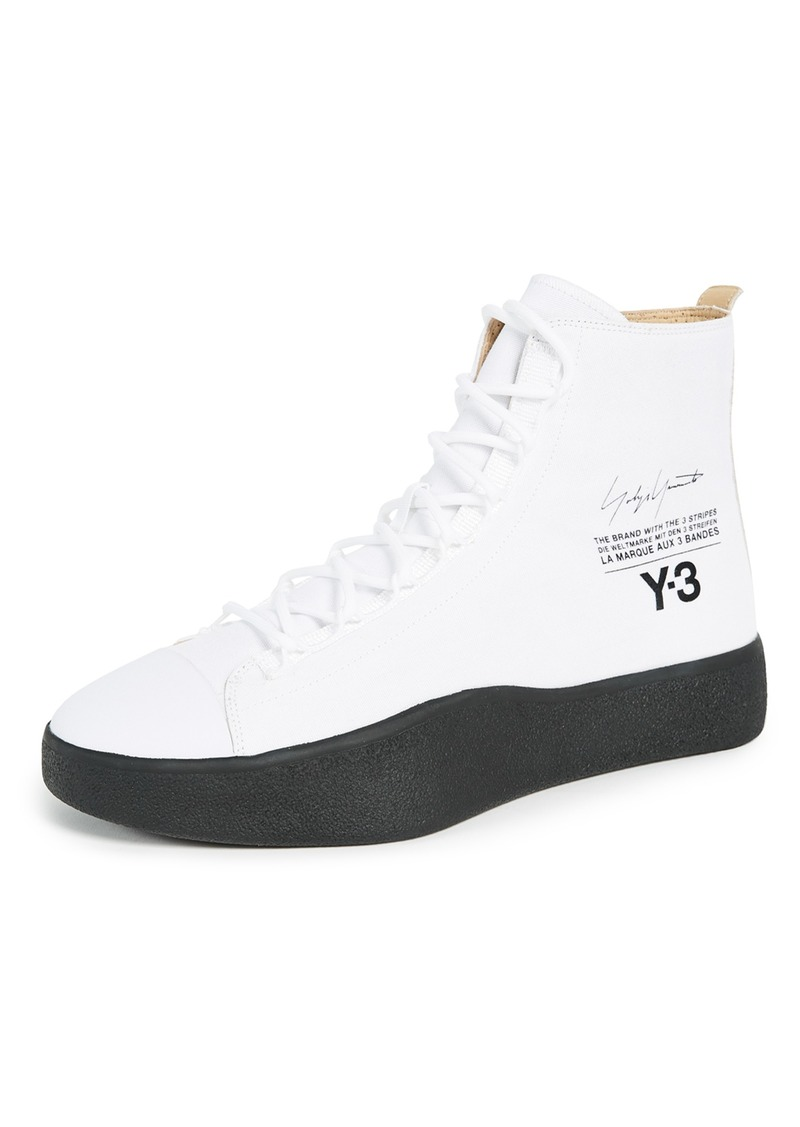 a30e1784d Y-3 Y-3 Y-3 Bashyo High Top Sneakers