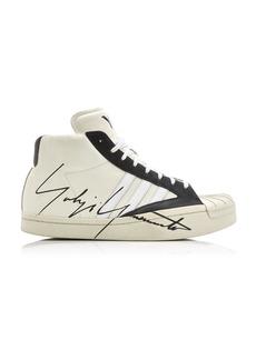 Y-3 Yohji Pro Chunky Leather Sneaker-Boots