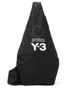 Y-3 Yohji Signature nylon cross-body bag