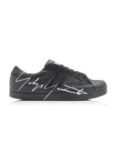 Y-3 Yohji Star Leather Low-Top Sneakers