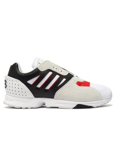 Y-3 ZX Run leather, suede and mesh trainers