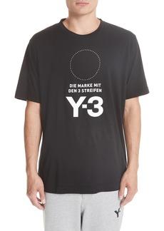 Y-3 Y-S Stat Logo T-Shirt