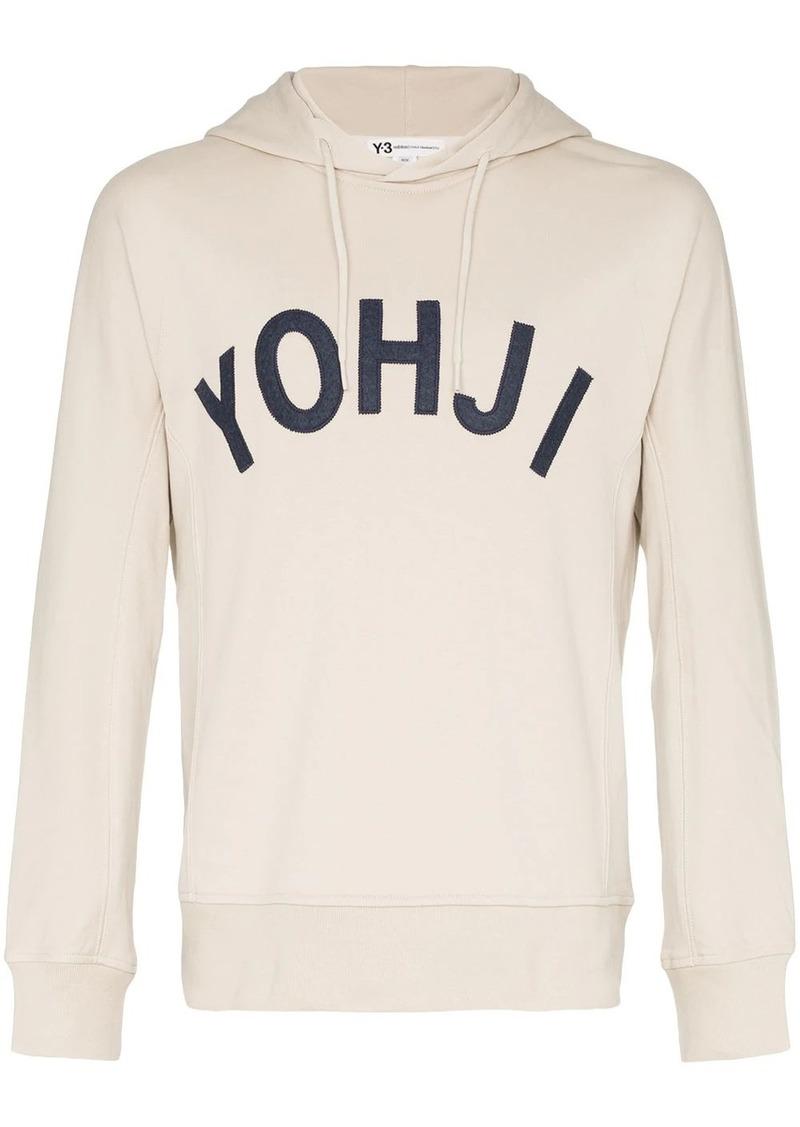 Y-3 Yohji print hoodie