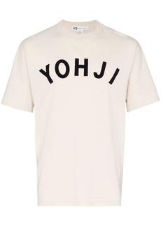 Y-3 Yohji print T-shirt