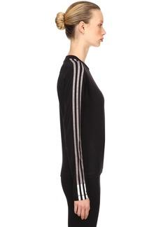 Y-3 Yohji Yamamoto 3 Stripes Long Sleeve Jersey T-shirt