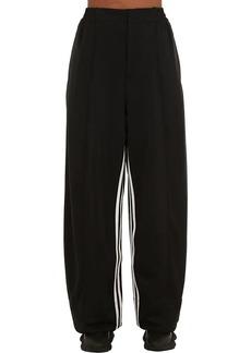 Y-3 Yohji Yamamoto 3-stripes Wide Leg Techno Pants
