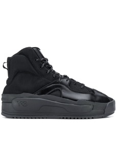 Y-3 Yohji Yamamoto ankle lace-up sneakers