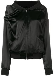 Y-3 Yohji Yamamoto asymmetric bomber jacket