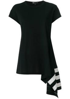 Y-3 Yohji Yamamoto asymmetric hem T-shirt