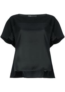 Y-3 Yohji Yamamoto asymmetric T-shirt