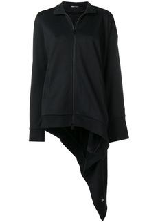 Y-3 Yohji Yamamoto asymmetric track jacket