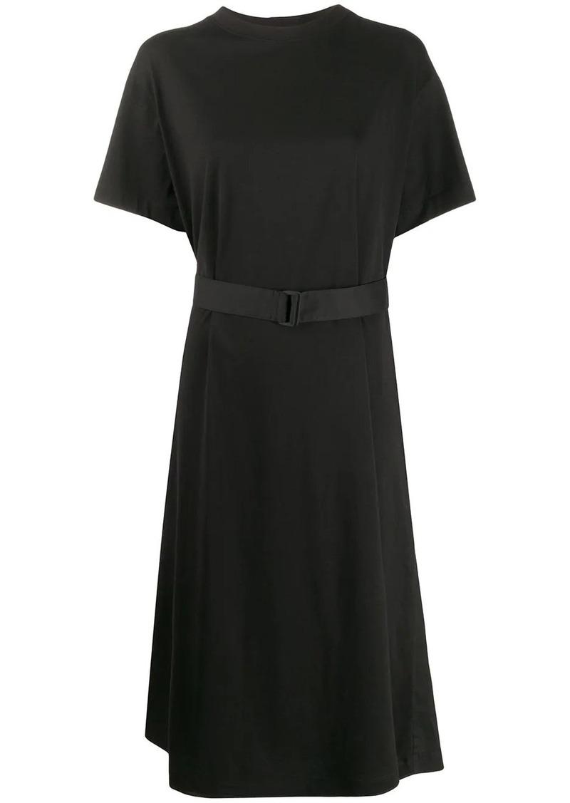 Y-3 Yohji Yamamoto belted dress