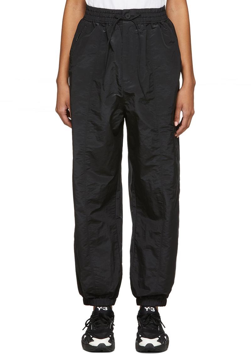 Y-3 Yohji Yamamoto Black Classic Shell Lounge Pants