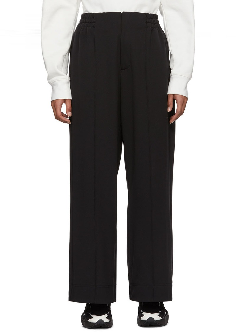Y-3 Yohji Yamamoto Black Classic Wide Lounge Pants