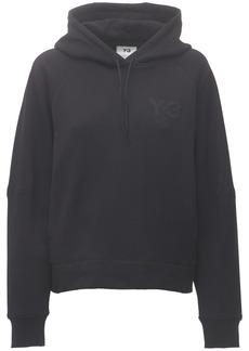 Y-3 Yohji Yamamoto Classic Chest Logo Cotton Hoodie