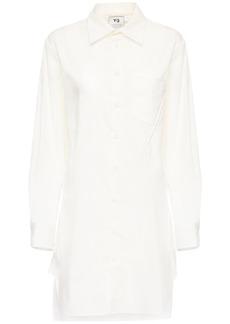 Y-3 Yohji Yamamoto Classic Cotton Blend Shirt